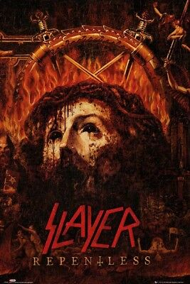 SLAYER - REPENTLESS POSTER (61x91cm)  PICTURE PRINT NEW ART