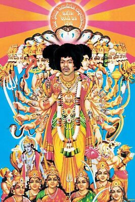 JIMI HENDRIX AXIS BOLD AS LOVE POSTER (61x91cm)  PICTURE PRINT NEW ART