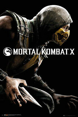 Mortal Kombat x POSTER (61x91cm) Picture Print New Art