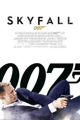 007 Skyfall James Bond Movie POSTER (61x91cm) Picture Print New Art