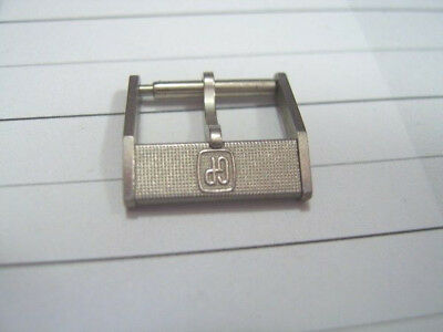 Vintage Nos 14Mm Girard Perregaux Stainless Steel Watch Buckle             *5639