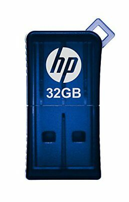 32GB Micro-sized USB 2.0 Flash Drive with Mini-mobile Design.by HP - BESTSELLING