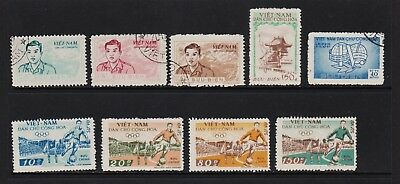 Vietnam - 9 Official stamps