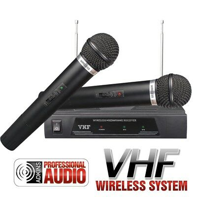 NEW - Dual VHF Wireless Microphone - Quality Audio at Affordable Prices