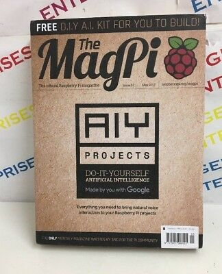 Raspberry PI Magazine The Magpi AIY Projects DIY Issue 57 Google Assistant