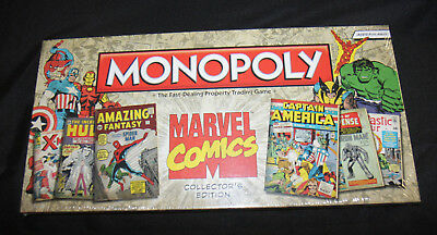 Monopoly Marvel Comics Collector's Edition 2012