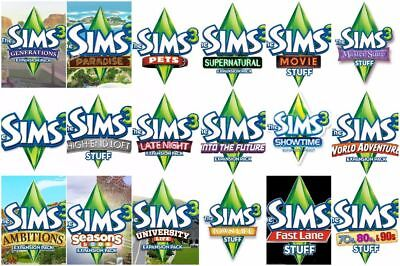 The Sims 3  Expansions Origin Keys, Generations