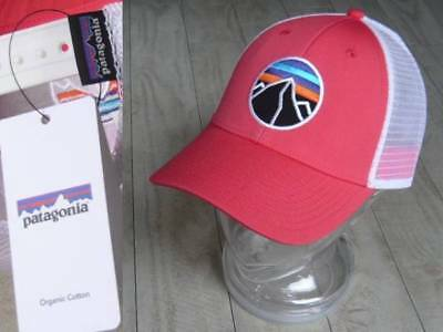 VERY RARE NWT Patagonia Fitz Roy Emblem LoPro unisex Hat in Shock Pink NEW  MINT! 17f760efb9e8