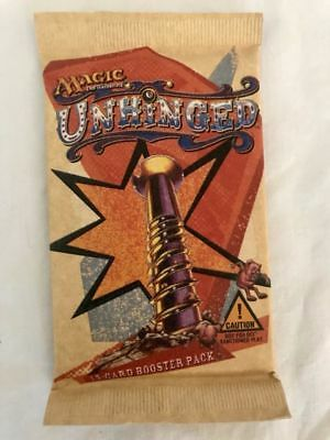 Unhinged Booster Pack Mtg Magic the Gathering Sealed Scellé x1