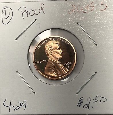 2005-S Lincoln Memorial Cent Proof. Collector Coin For Your Set Or Collection.2