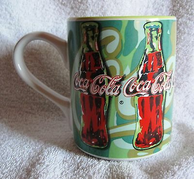 Coca-Cola - Red And Green - 1998 - Gibson - Coffee Cup - Mug - Great Gift Item