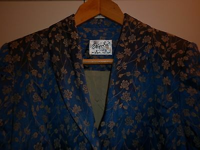 Vintage Evelyn Eve Sydney Brocade Jacket Size 16 Excellent Condition