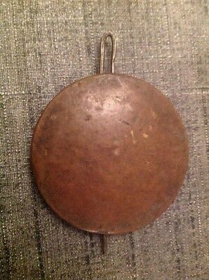 Antique Brass Pendulum Bob 62g 57mm Diameter 80mm Long For Spare Parts