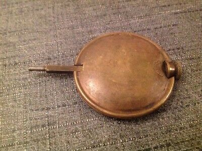 Antique Brass Pendulum 96g 48mm Diameter 72mm Long For Spare Parts