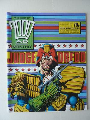 The Best Of 2000AD Featuring Judge Dredd Monthly No 35 1988 VGC