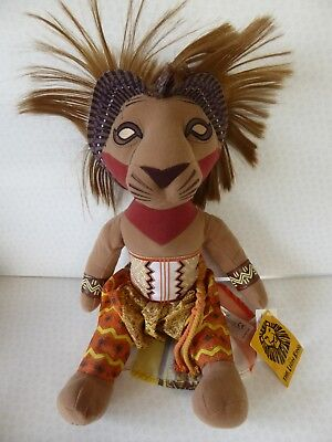 Simba Limited Edition Disney Lion King The Broadway Musical Plush Toy New Tags