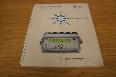 HP/Agilent 53150A/151A/152A Microwave Frequency Counter Programming  L: 810