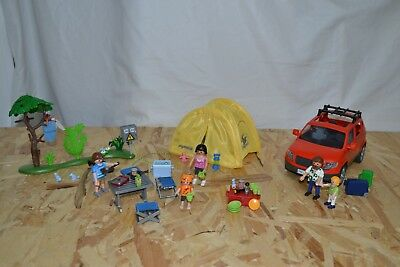 Playmobil Familien Camping 5435, Summer Fun Auto 5436