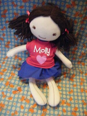 "Bhs British Home Stores Molly soft doll 15"" approx"