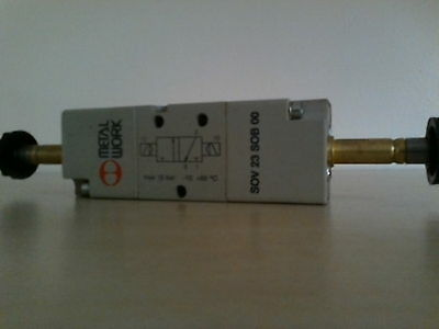 "1/8""-3/2 - Solenoid Operated - Solenoid Return Pneumatic MetalWork Valve"