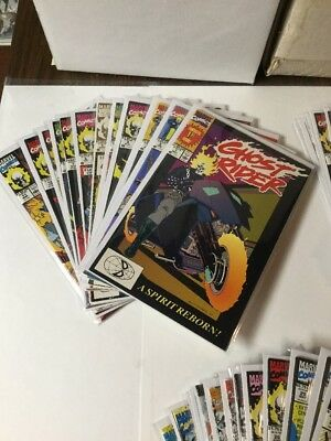 Ghost Rider 1-35 Plus Crossovers Tie-ins Variants 1990 Series Nm Near Mint