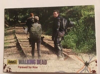 #62 Farewell For Now Card 74/99 Silver Parallel The Walking Dead Season 4 Part 2