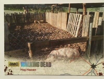 #13 Hog Heaven Card 8/99 Silver Parallel 2016 The Walking Dead Season 4 Part 2