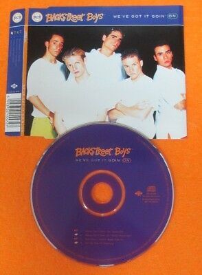 CD Singolo BACKSTREET BOYS WE'VE GOT IT GOIN ON 1996 JIVE JIVE CD 400 (S33)