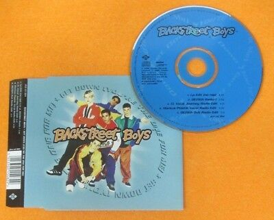 CD Singolo BACKSTREET BOYS GET DOWN 1996 JIVE JIVE CD 394 no mc lp vhs dvd (S33)