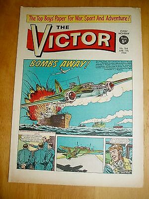 Blenheim Bomber Attacks German Convoy In N.africa Ww2 Cover Story Victor 1964
