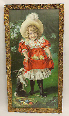 1899 Woolson Spice Co. Framed Litho Poster