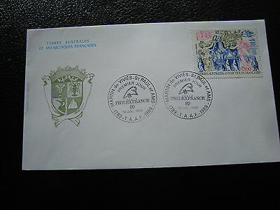 TAAF - envelope 1st day 14/7/1989 (cy54)
