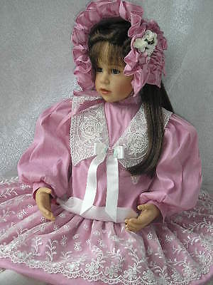 Victorian Rose and Ruffles for 24-27 Inch Dolls