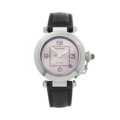 Cartier Miss Pasha Stainless Steel Watch W3108199 Com1586
