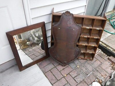 Vintage Wall Hotel 25 Room Key Mail Box Rustic Farmhouse Country Ask 4 Ship Cost