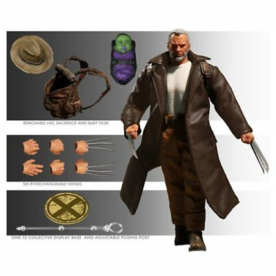 Wolverine Old Man Logan One:12 Collective Action Figure NEW! Mezco