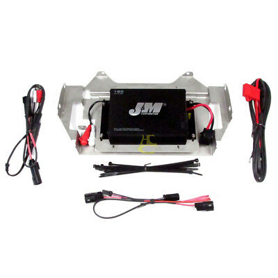 J&M Audio 180 Watt 2 Channel Amp Kit 2014 & Up Harley Ultra Street Glide Trike