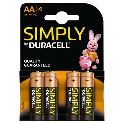 AA-AAA-Battery Duracell-Batteries Pack of 4
