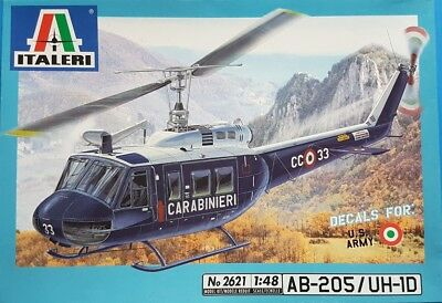 Italeri 1:48 AB-205 UH-1D Kit No. 2621