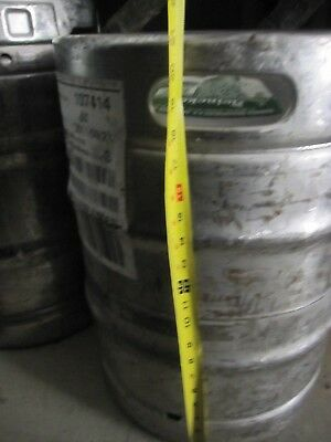 Stainless 15.5 Gallon commercial Heineken Keg or gas tank project