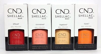 CND Gel Polish .25oz- Pick any Color From BOHO SPIRIT 2018 Collection Shellac