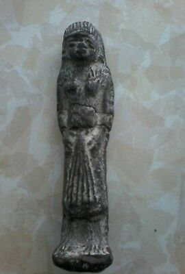 USHABTI 5 INCHES Sculpture Egyptian ANTIQUE? Genuine? as is!