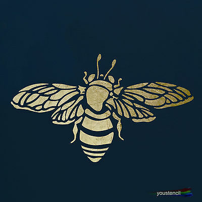 Bumble Bee Stencil for Art, Walls and Furniture:  ST2