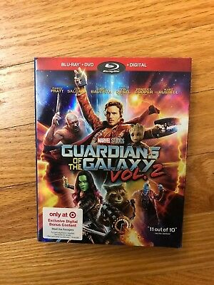 Guardians of the Galaxy, Vol. 2, Blu-ray/DVD/Digital, Target Exclusive, new