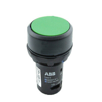 H● ABB CP1-10G-11 Pushbotton Switches Pushbutton Momentary Green