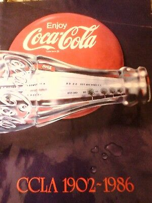 COCA-COLA CCLA 1902-1986 With letter from Jack R.Attwood