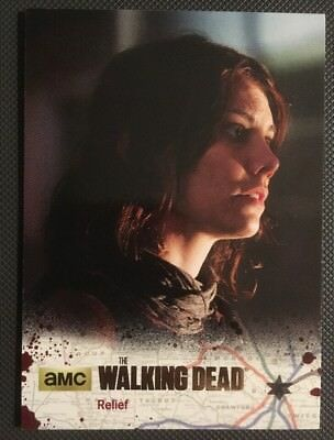 #26 Relief 3/25 Gold Parallel Card 2016 The Walking Dead Season 4 Part 2