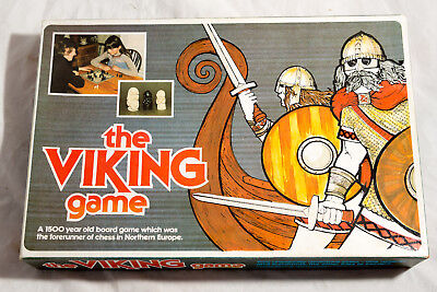 Vintage The Viking Game By History Craft 1981