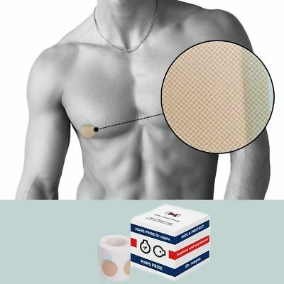 Dr. Nipple Band Cover for Men Hide & Protect Care 50 Pair (100 Pieces) [25mm]