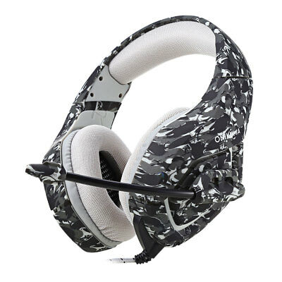 ONIKUMA K1 Stereo Bass Camouflage Gaming Headset with Mic for PS4 Xbox One PC